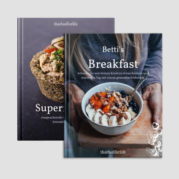 Bettis Breakfast Kochbuch, vegan, Glutenfrei, Zuckerfrei, Clean Eating.