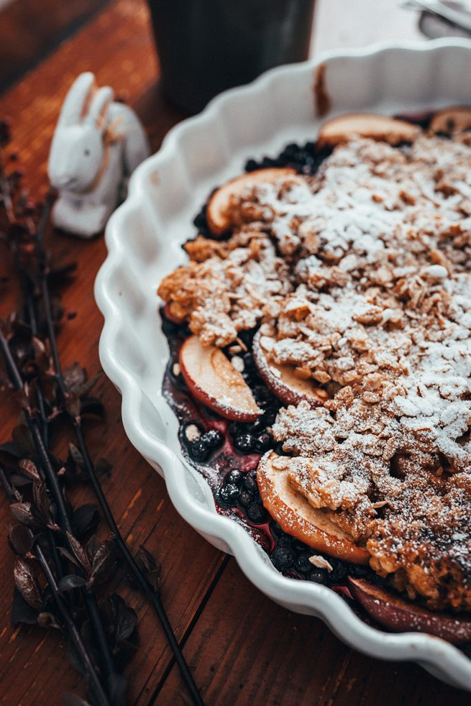 Blueberry-Apple-Crumble