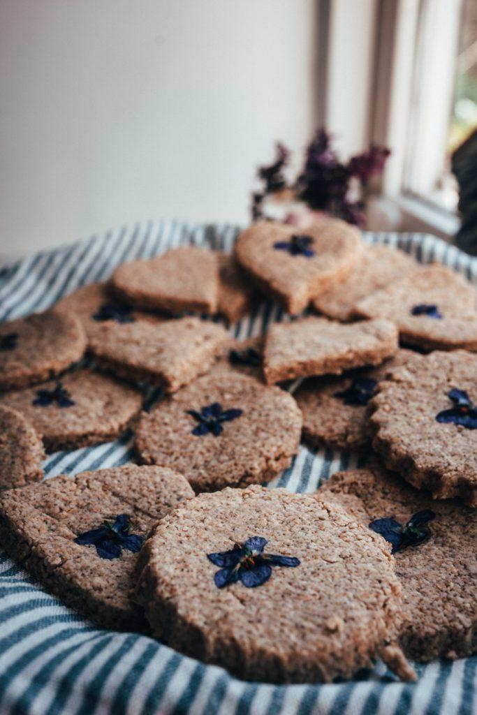 Duftveilchen Kekse